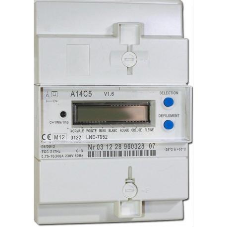 Compteur électronique monophasé 2 fils