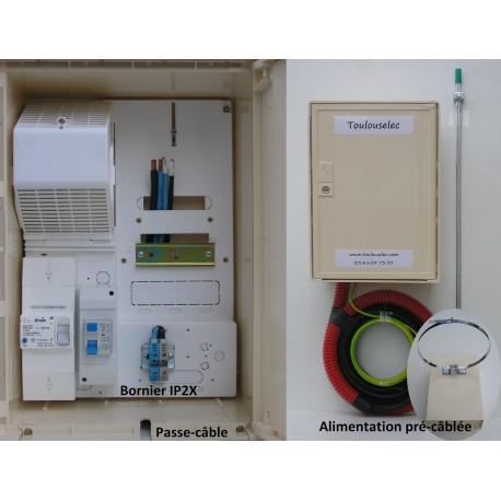 Pack 15M monophasé 6/9/12 KVA 1 bornier IP2X