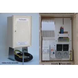 Pack 3M monophasé 3/6/9 KVA 2 prises intérieures